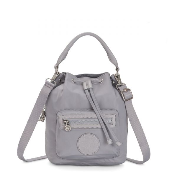 VIOLET S Natural Grey SHOULDERBAGS by Kipling Front