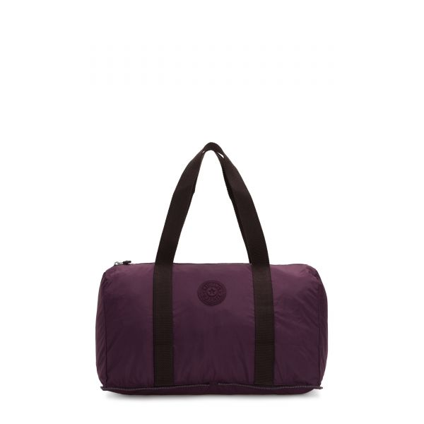 HONEST PACK Dark Plum WEEKENDER by Kipling Front