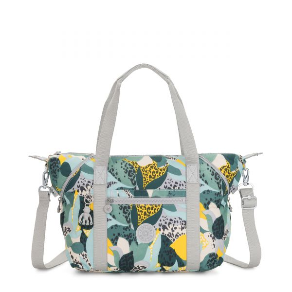 ART Urban Jungle TOTE by Kipling Front