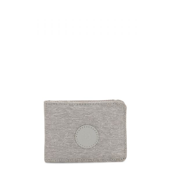 MONEY KEEPER Chalk Grey WALLETS by Kipling Front