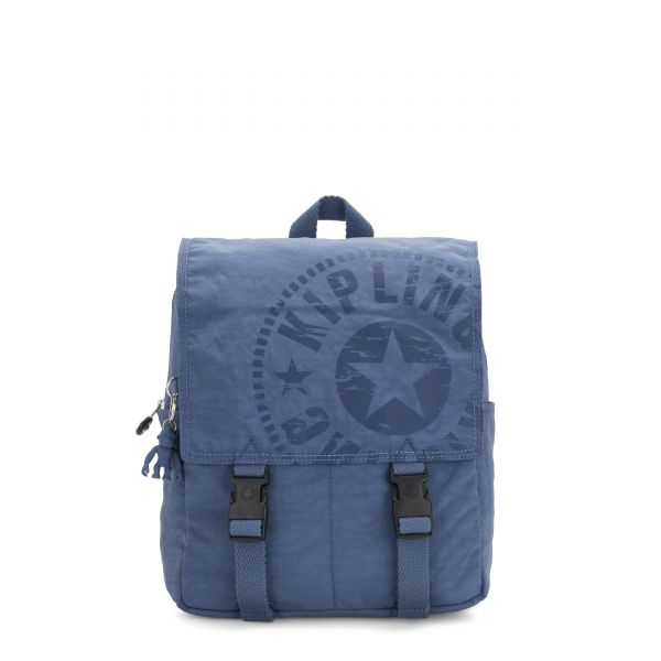 LEONIE S Soulfull Blue BACKPACKS by Kipling Front