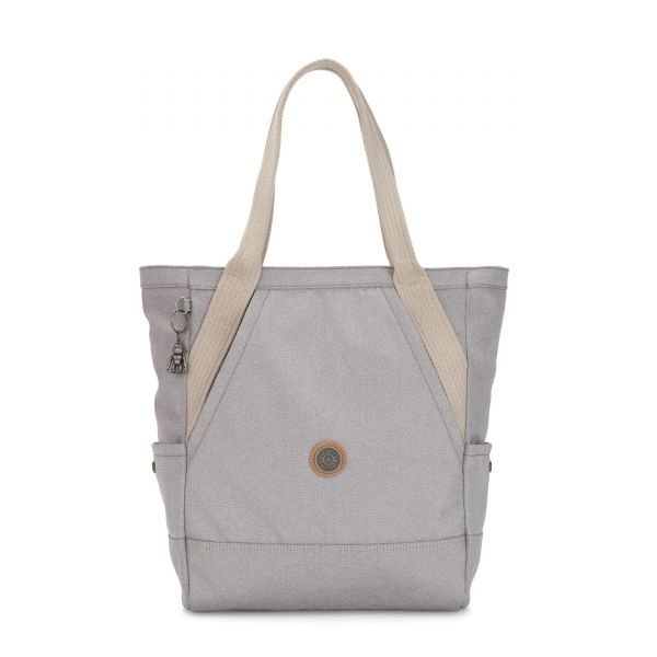 ALMATO Rustic Blue TOTE by Kipling Front