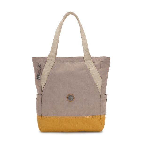 ALMATO Bold Fungi Block TOTE by Kipling Front