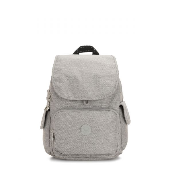 CITY PACK Chalk Grey BACKPACKS by Kipling Front