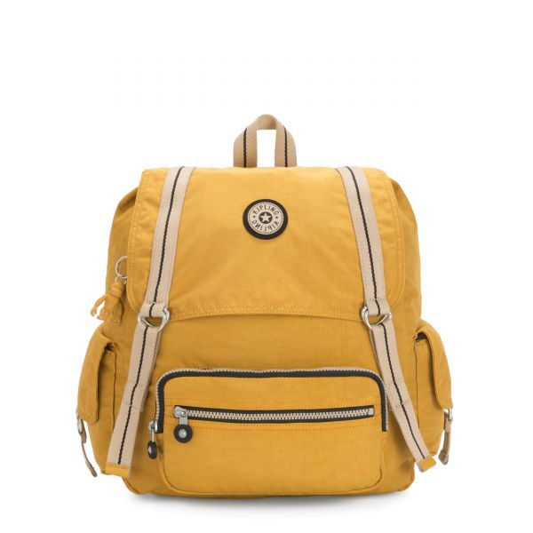ATTEL Spicy Yellow BACKPACKS by Kipling Front