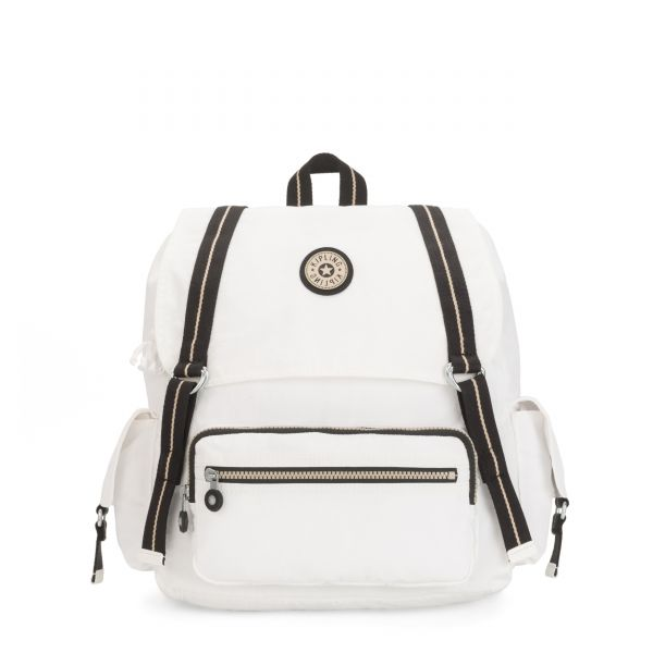 ATTEL Extreme Ivory Combo BACKPACKS by Kipling Front
