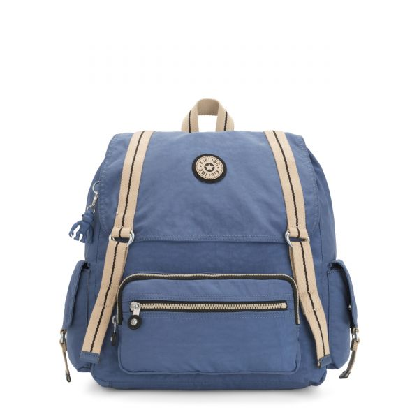 ATTEL Brave Blue BACKPACKS by Kipling Front