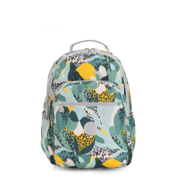 SEOUL Urban Jungle BACKPACKS by Kipling Front
