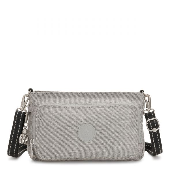 MYRTE Chalk Grey CROSSBODY by Kipling Front