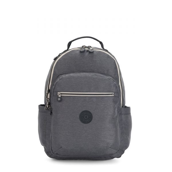 SEOUL Charcoal BACKPACKS by Kipling Front