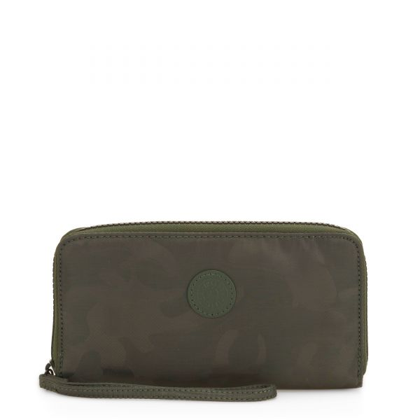 IMALI Satin Camo WALLETS by Kipling Front