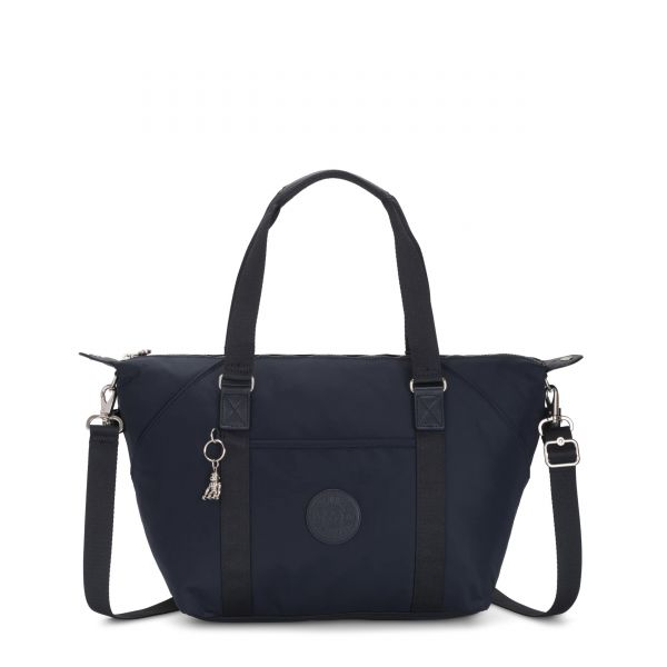 ART True Blue Twill TOTE by Kipling Front