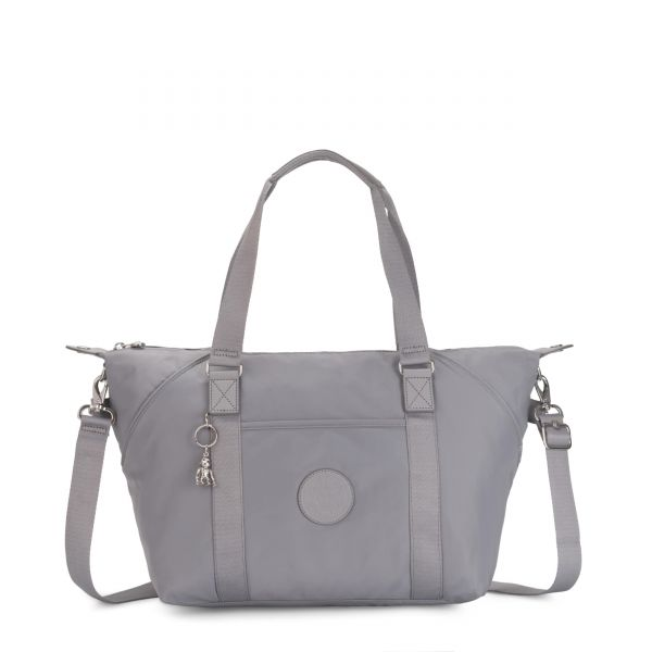 ART Natural Grey TOTE by Kipling Front
