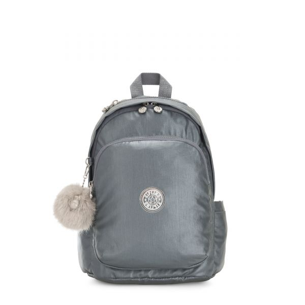DELIA Steel Grey Gifting + BACKPACKS by Kipling Front