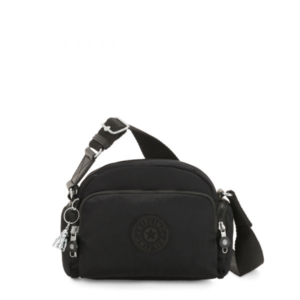 JENERA S Rich Black Origin CROSSBODY by Kipling Front