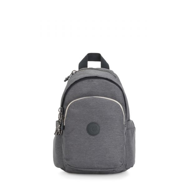 DELIA MINI Charcoal BACKPACKS by Kipling Front