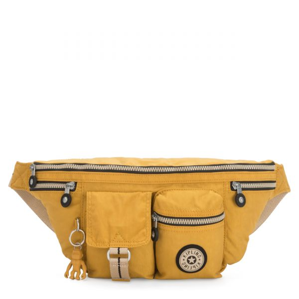 FORZA Spicy Yellow CROSSBODY by Kipling Front