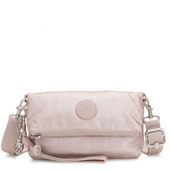 LYNNE Metallic Rose CROSSBODY by Kipling Front