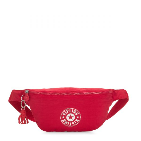 FRESH Lively Red CROSSBODY by Kipling Front