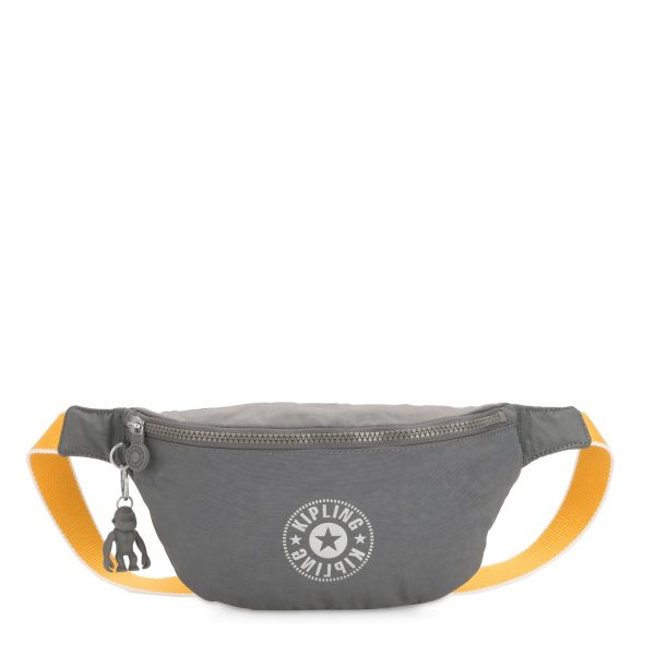 FRESH Dark Carbon Yellow CROSSBODY by Kipling Front