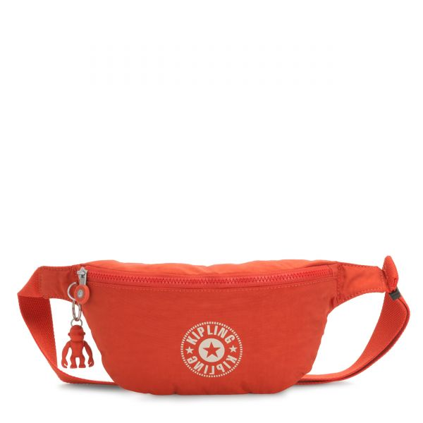 FRESH Funky Orange Nc CROSSBODY by Kipling Front