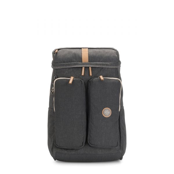 SHASTA Casual Grey BACKPACKS by Kipling Front