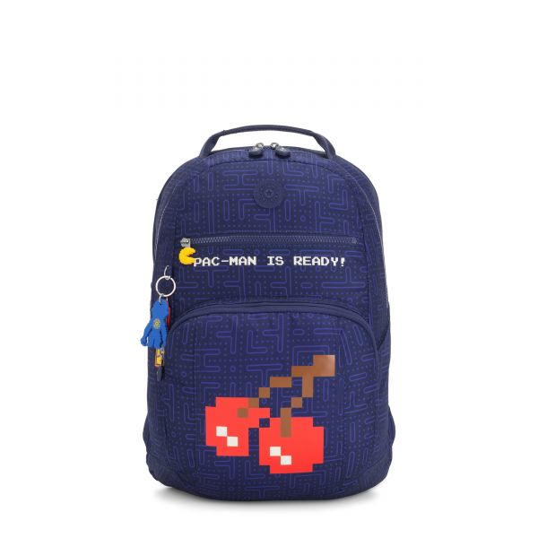 TROY Pac Man Good BACKPACKS by Kipling Front