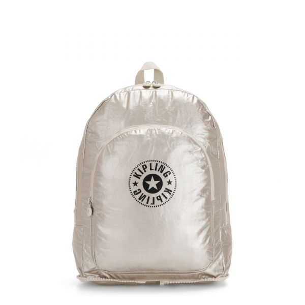 EARNEST Cloud Metal Combo BACKPACKS by Kipling Front