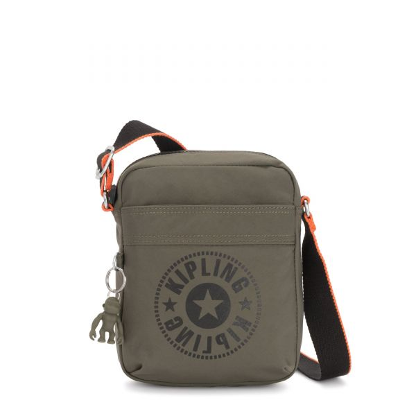 HISA Cool Moss New Classics CROSSBODY by Kipling Front