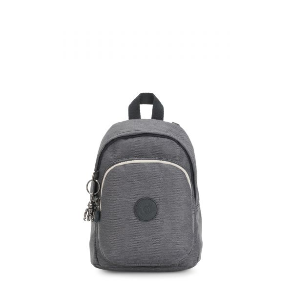 DELIA COMPACT Charcoal BACKPACKS by Kipling Front