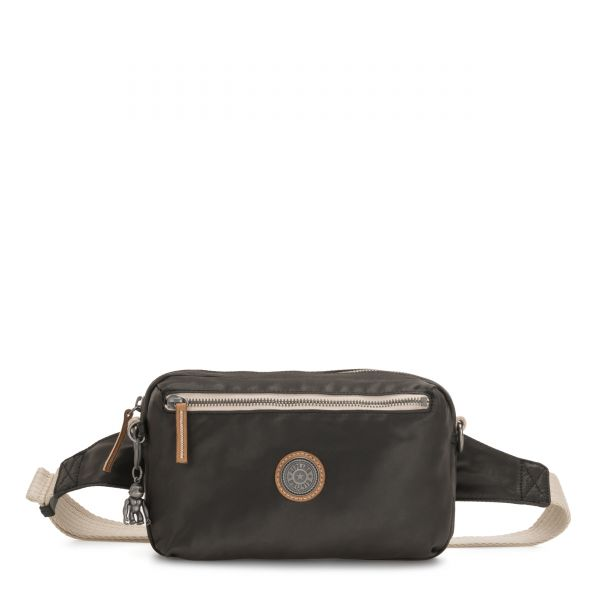 HALIMA Delicate Black CROSSBODY by Kipling Front