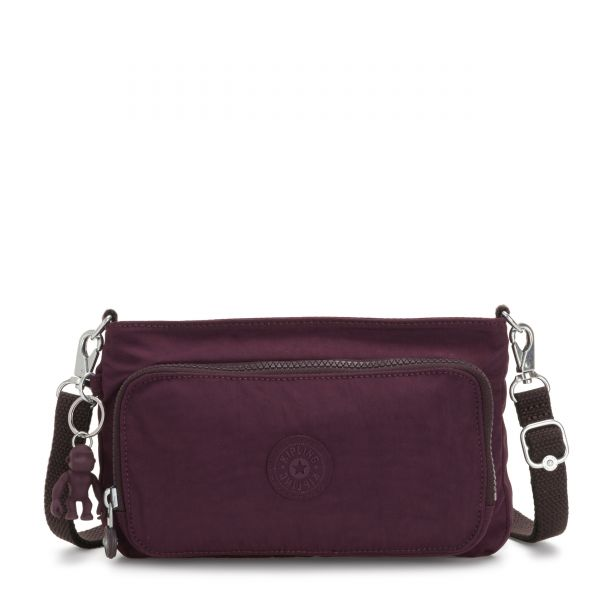 MYRTE Dark Plum CROSSBODY by Kipling Front