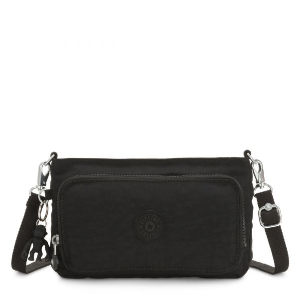 MYRTE Black Noir CROSSBODY by Kipling Front