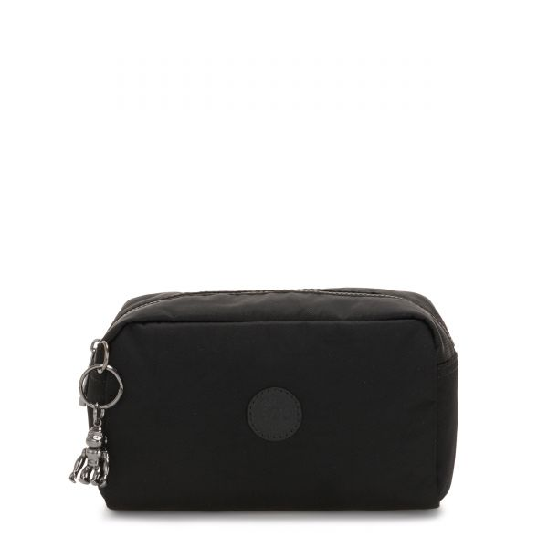 GLEAM Rich Black POUCHES/CASES by Kipling Front