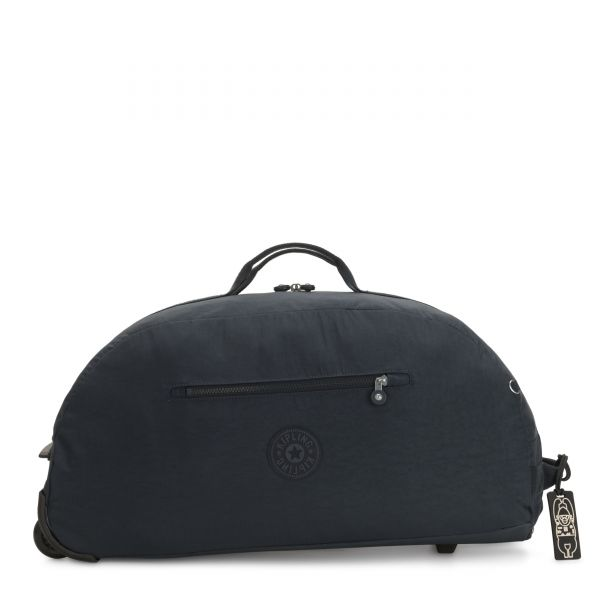 DEVIN ON WHEELS Blue Bleu CARRY ON by Kipling Front