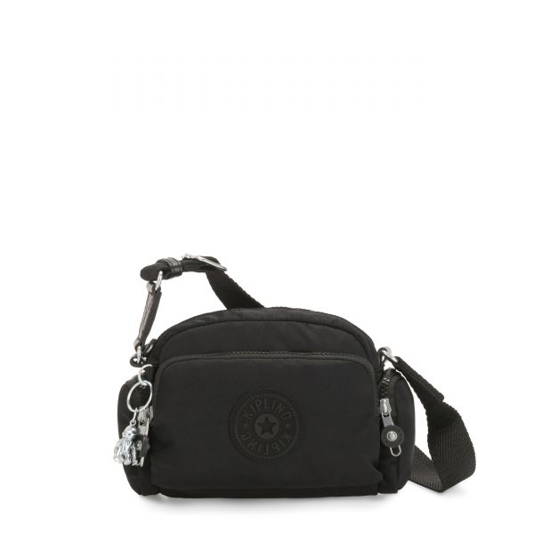 JENERA MINI Rich Black Origin CROSSBODY by Kipling Front