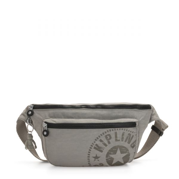 YASEMINA XL Rapid Grey CROSSBODY by Kipling Front
