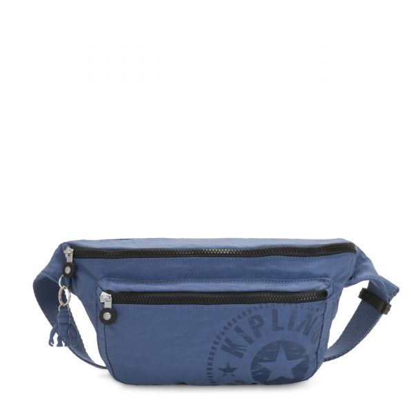 YASEMINA XL Soulfull Blue CROSSBODY by Kipling Front