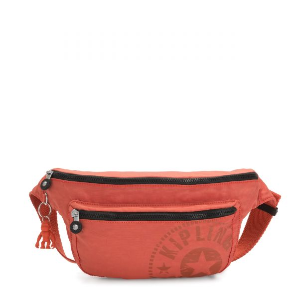 YASEMINA XL Hearty Orange CROSSBODY by Kipling Front