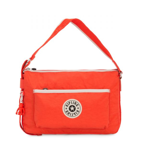 ERNA Rapid Red Combo SHOULDERBAGS by Kipling Front