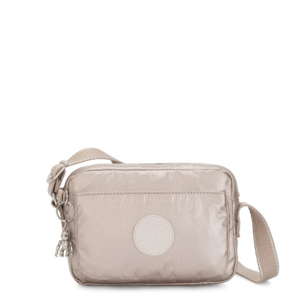 ABANU Metallic Glow CROSSBODY by Kipling Front