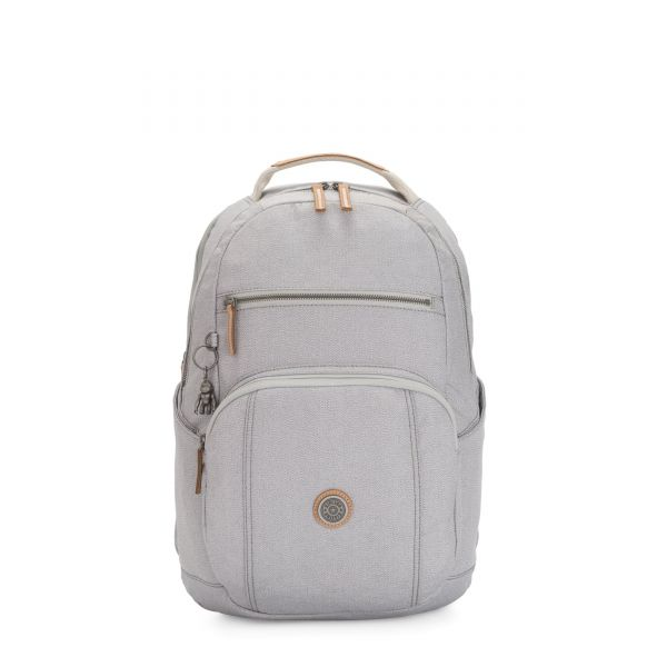 TROY Rustic Blue BACKPACKS by Kipling Front