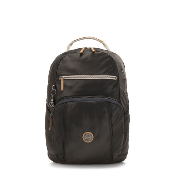 TROY Delicate Black BACKPACKS by Kipling Front
