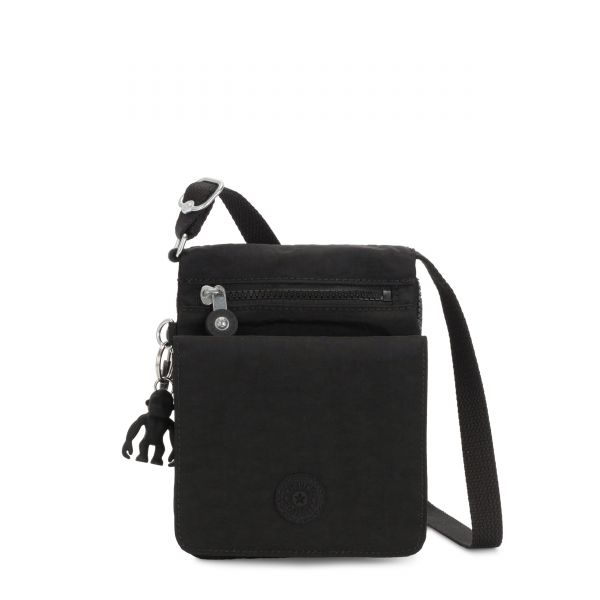 NEW ELDORADO Black Noir CROSSBODY by Kipling Front