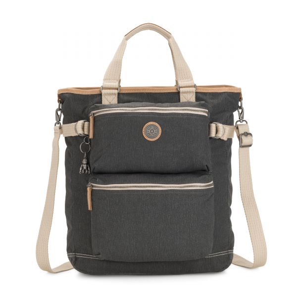 LASLO Casual Grey TOTE by Kipling Front