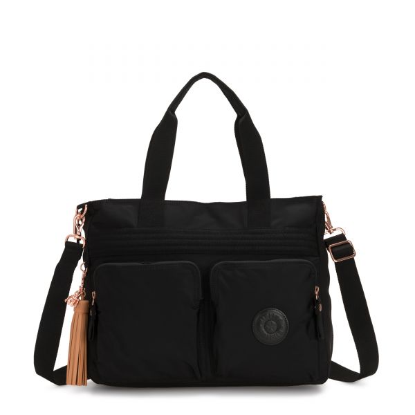 ESIANA Rose Black TOTE by Kipling Front