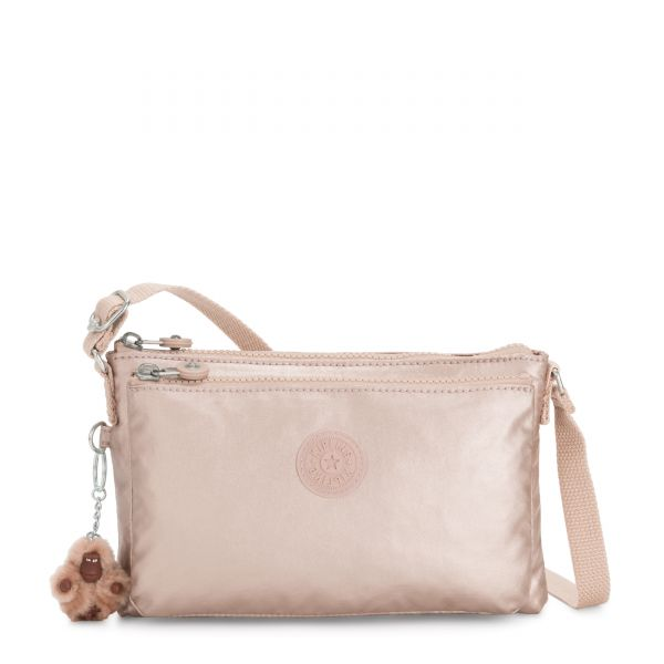 MIKAELA Quartz Metallic CROSSBODY by Kipling Back