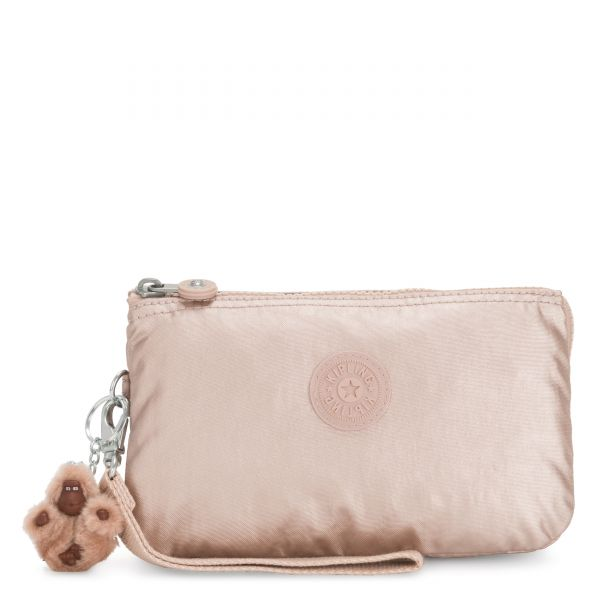 CREATIVITY XL Quartz Metallic POUCHES/CASES by Kipling Back