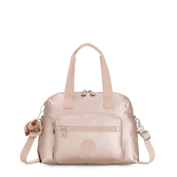 TRACY Quartz Metallic SHOULDERBAGS by Kipling Back