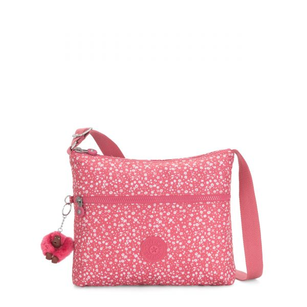 ANNABELLE Dainty Daisies Pink CROSSBODY by Kipling Back